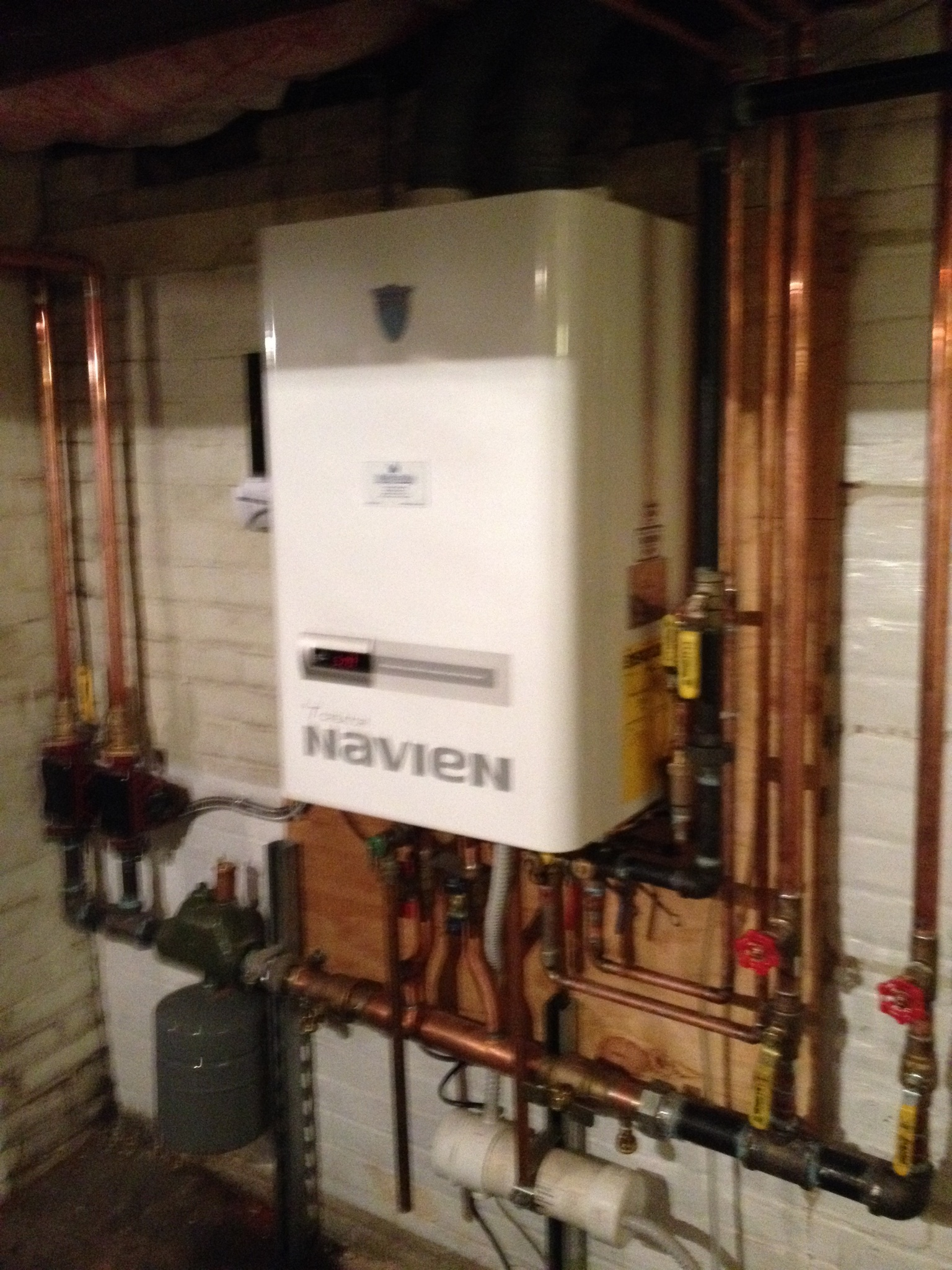 The old Navien CH series