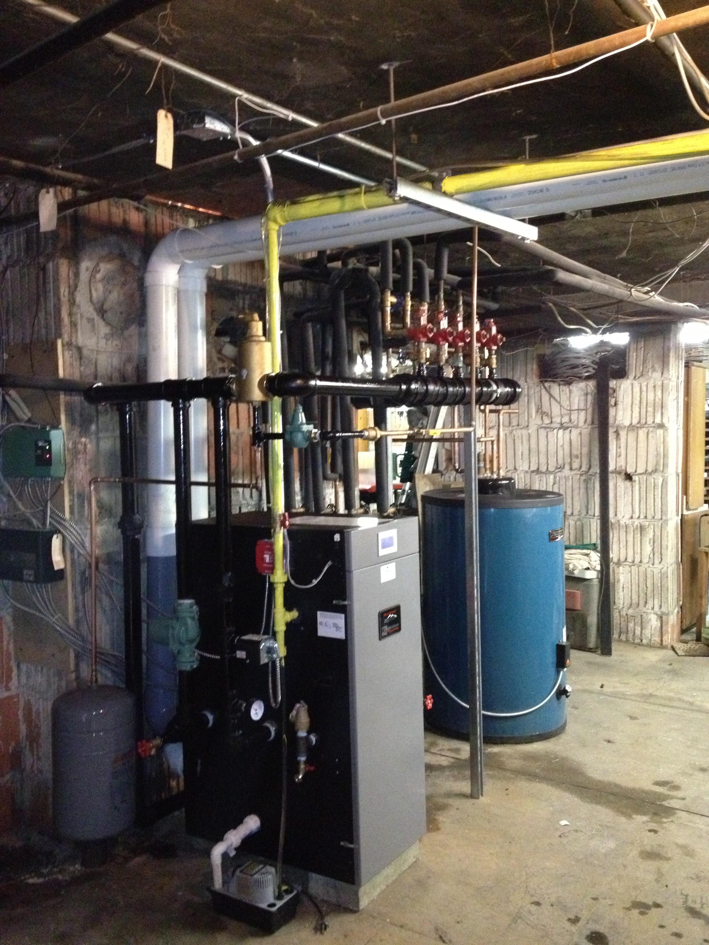 New Burnham Alpine and Burnham Alliance indirect hot water heater