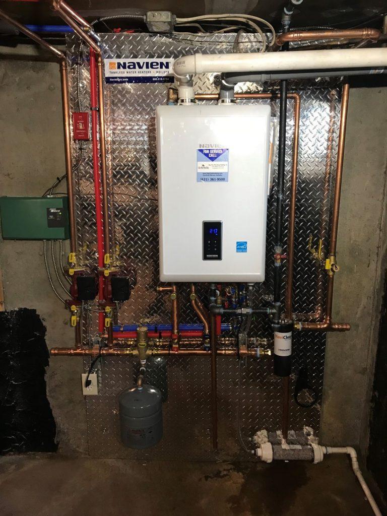 New Navien NCB 240 installation