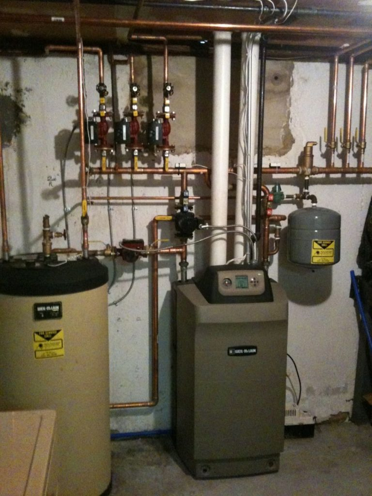 Weil McLain Ultra Boiler with partner indirect